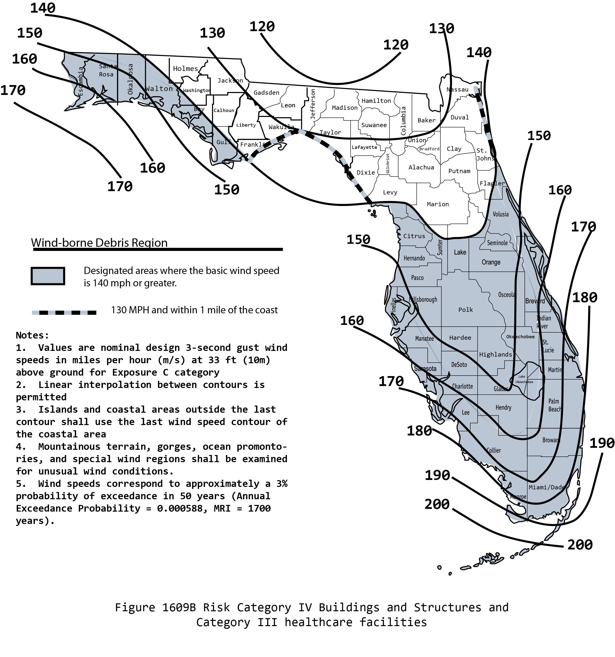 Florida Wind Zone Map 2015 Bnhspine Com