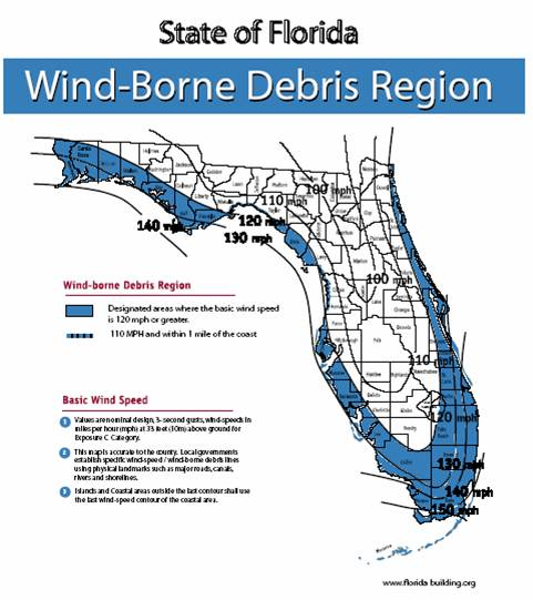 Figure 1609 change to read as shown for Florida wind code for garage doors